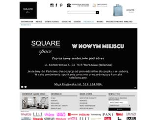 squarespace.pl screenshot