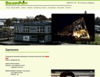 squash.bydgoszcz.pl screenshot