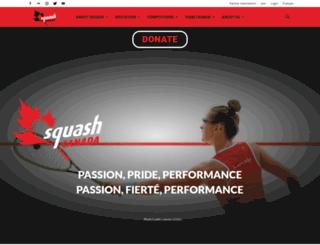 squash.ca screenshot