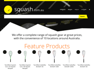squash.com.au screenshot
