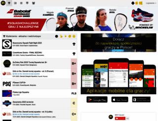 squash.wroclaw.pl screenshot