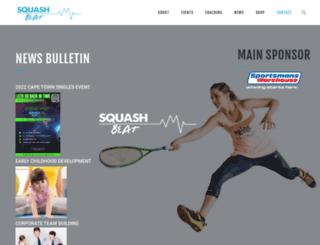 squashbeat.co.za screenshot