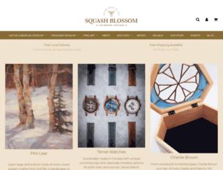 squashblossom.com screenshot