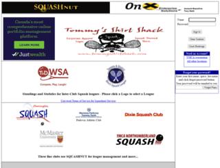 squashnut.com screenshot
