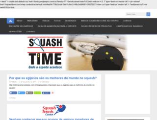 squashtime.com.br screenshot