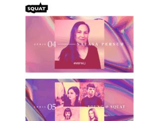squat.si screenshot