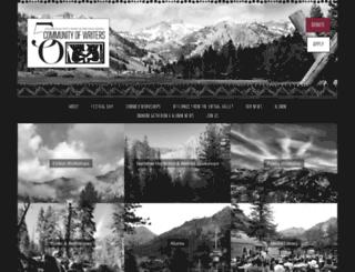squawvalleywriters.org screenshot