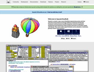 squeak.org screenshot