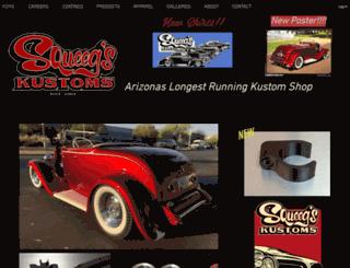 squeegskustoms.com screenshot