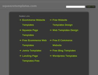 squeezetemplates.com screenshot