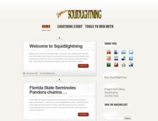 squidlightning.com screenshot