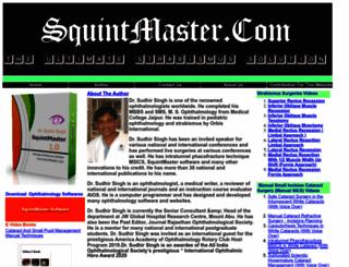 squintmaster.com screenshot