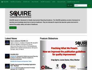 squire-statement.org screenshot