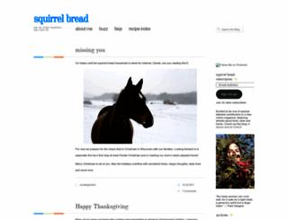 squirrelbread.wordpress.com screenshot