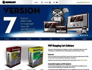 squirrelcart.com screenshot