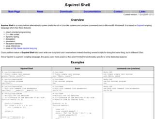 squirrelsh.sourceforge.net screenshot