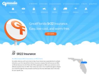 sr22.greatflorida.com screenshot