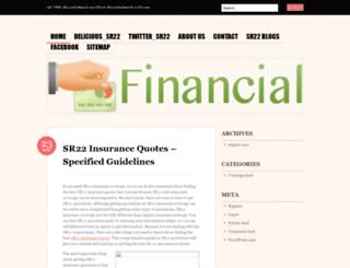 sr22insurancetopics.wordpress.com screenshot