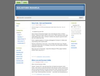 sraharja.wordpress.com screenshot