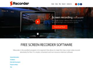 srecorder.com screenshot