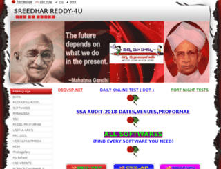 sreedharreddyhm.webnode.com screenshot