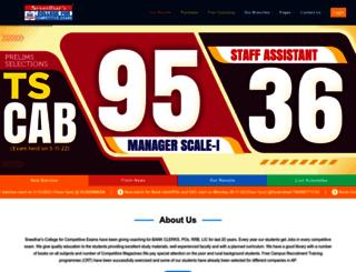 sreedharscce.com screenshot