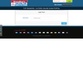 sreedharscce.org screenshot
