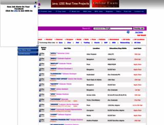sreejobs.com screenshot
