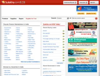 sreelakshmi.sulekhab2b.com screenshot