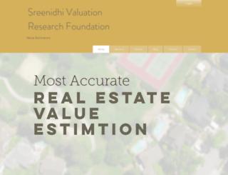 sreenidhi.net screenshot