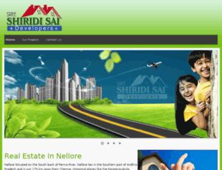 sreeshiridisaidevelopers.com screenshot