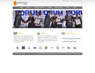 sreeveninfo.com screenshot