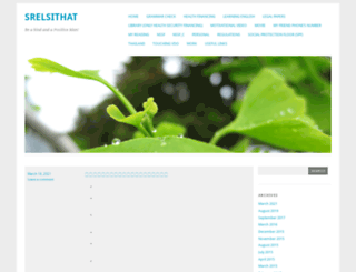srelsithat.wordpress.com screenshot