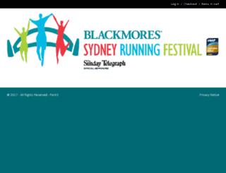 srf.sydneyrunningfestival.com.au screenshot