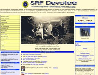 srfdevotee.com screenshot