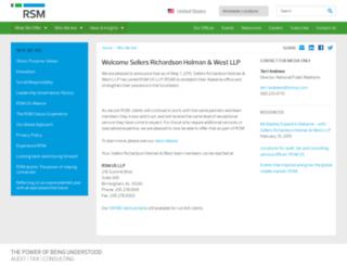 srhwcpa.com screenshot