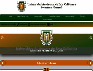 sriagral.uabc.mx screenshot