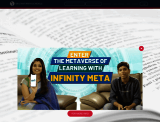 srichaitanyaschool.net screenshot