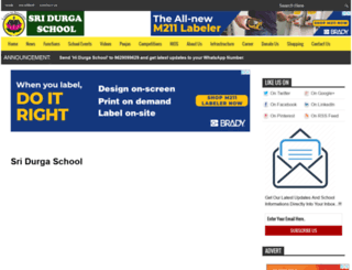 sridurgaschool.blogspot.in screenshot