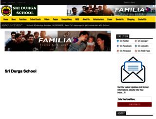 sridurgaschool.com screenshot