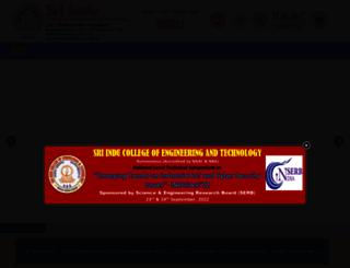 sriindugroup.org screenshot