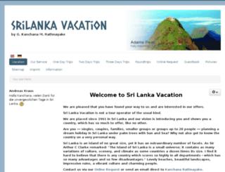 srilanka-vacation.eu screenshot