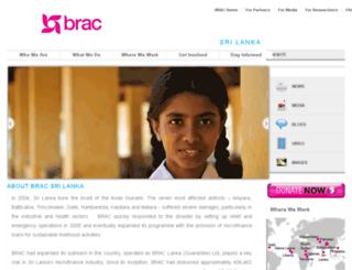 srilanka.brac.net screenshot