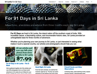 srilanka.for91days.com screenshot
