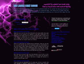 srilankachatroom.blogspot.com.au screenshot