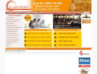 srilankajobs.net screenshot