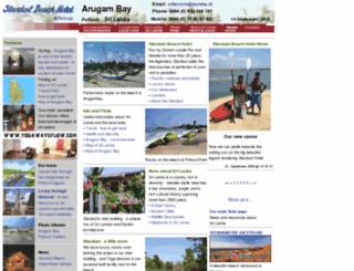 srilankaland.com screenshot