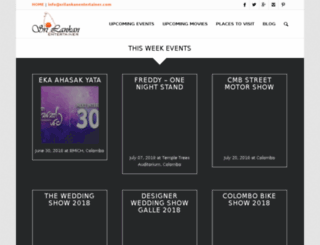 srilankanentertainer.com screenshot