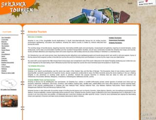 srilankatourism.org.in screenshot