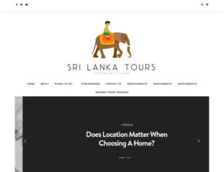 srilankatourpackages.org screenshot